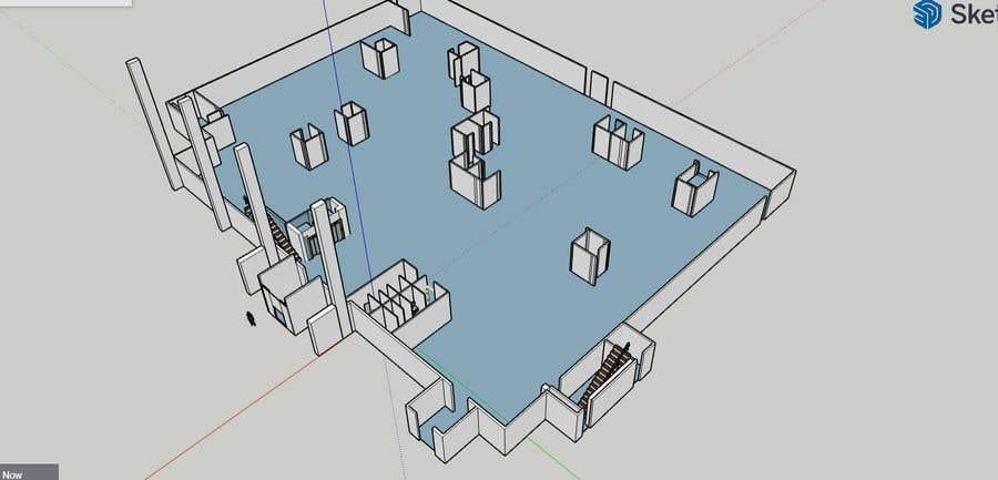 Penyertaan Peraduan #                                        5                                      untuk                                         2 Story Commercial Architectural renderings with floor plans