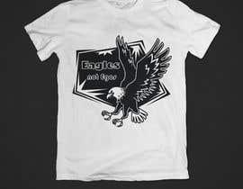 Nro 199 kilpailuun Eagles T-Shirt Design käyttäjältä mdrazzak95