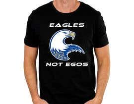 #106 untuk Eagles T-Shirt Design oleh Arafat3255