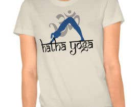 #27 for Design a T-Shirt for a Yoga/Ashtanga inspired clothing company by Haidaraliyusuf