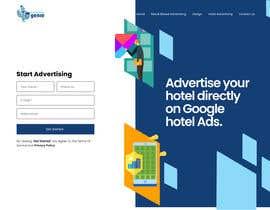 #19 для Landing Page Design Mock Up от vaishnav0606
