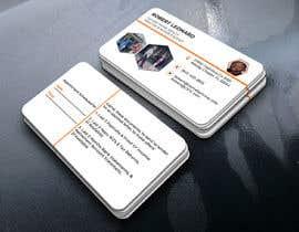 #130 untuk design a business card oleh kamrangd19