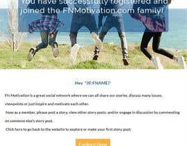 Nro 22 kilpailuun Design and html for email notification käyttäjältä tanzinahussain5