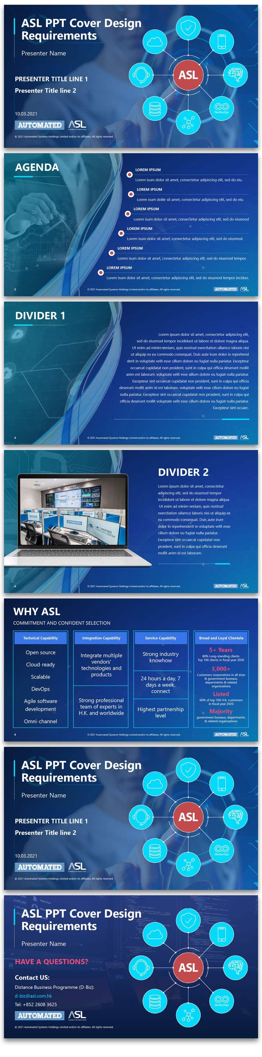 Bài tham dự cuộc thi #                                        57                                      cho                                         Corporate PPT Template Design (6 slides)