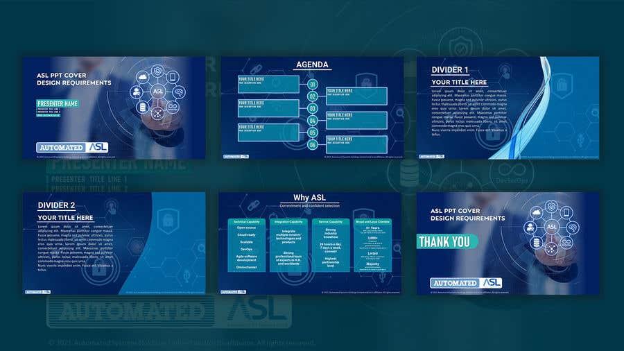 Bài tham dự cuộc thi #                                        43                                      cho                                         Corporate PPT Template Design (6 slides)