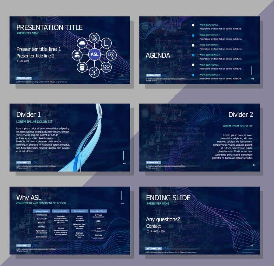 Bài tham dự cuộc thi #                                        33                                      cho                                         Corporate PPT Template Design (6 slides)