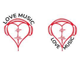 #17 untuk LOVE MUSIC oleh Designpark790