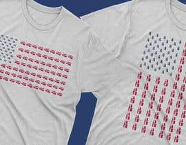 sirfrahman tarafından T-shirt.design.American-Trolley-flag için no 30