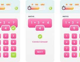 #61 cho Design 3 mobile screen for a kids educational app bởi graphstudio