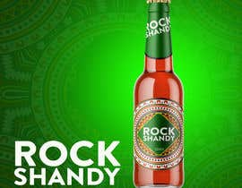 "#7 for We have a drink called ""Rock Shandy"" - its a hobby project and we want a Bottle Design and a logo. The bittle have 330ml. Its an african deink. So the theme is africa dor both. by Shubash1994"