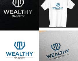 #445 cho Design a Logo for Financial Literacy Business Named: Wealthy Majority bởi MRITgroupGraphiX