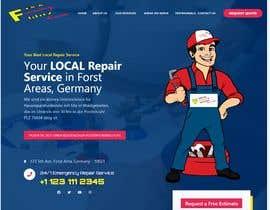 devendarthapa tarafından Build an advertising one-pager website for a craftsman offering repair services called Fixxblitz için no 27