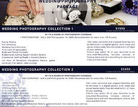 #23 cho Wedding Price List bởi tanzinahussain5