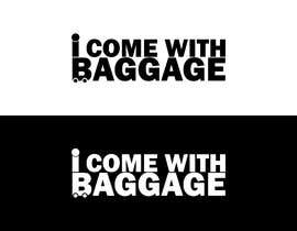 #345 для I Come with Baggage (Logo) от md80sabuj