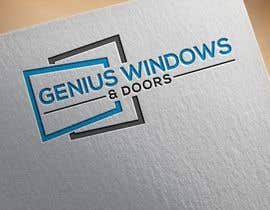 #95 untuk I need logo and business card design my company name genius windows & doors I need it in photoshop file that I will edit later I need some design that will be green and money savings with the genius idea or any new windows design oleh sumon16111979