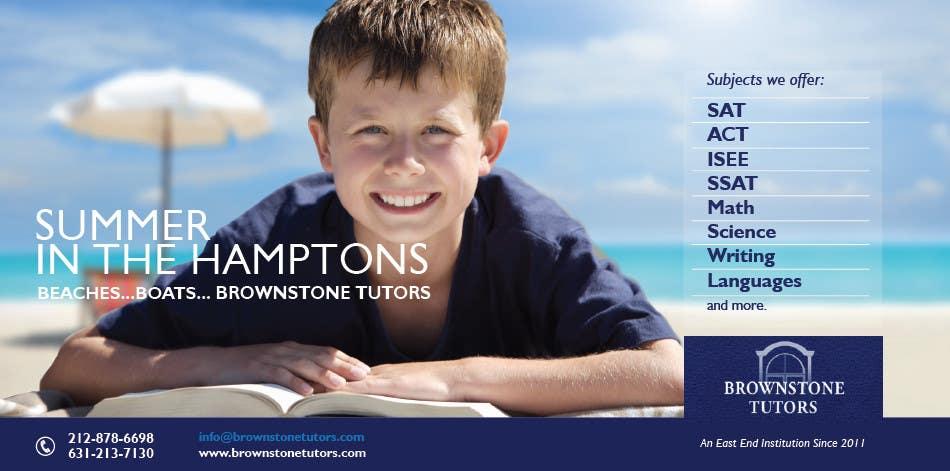 Bài tham dự cuộc thi #                                        12                                      cho                                         Advertisement Design for Brownstone Tutors