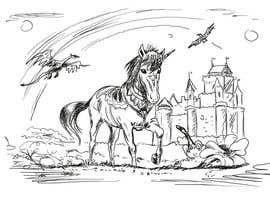 #1 para Illustrate Something for Unicorn Kingdom cover por klakornikola