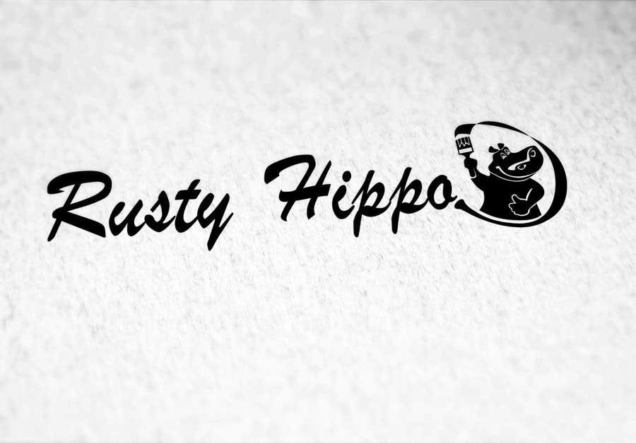 Penyertaan Peraduan #60 untuk Can YOU Fix my Logo? EASY MONEY! ReDesign Logo for Rusty Hippo