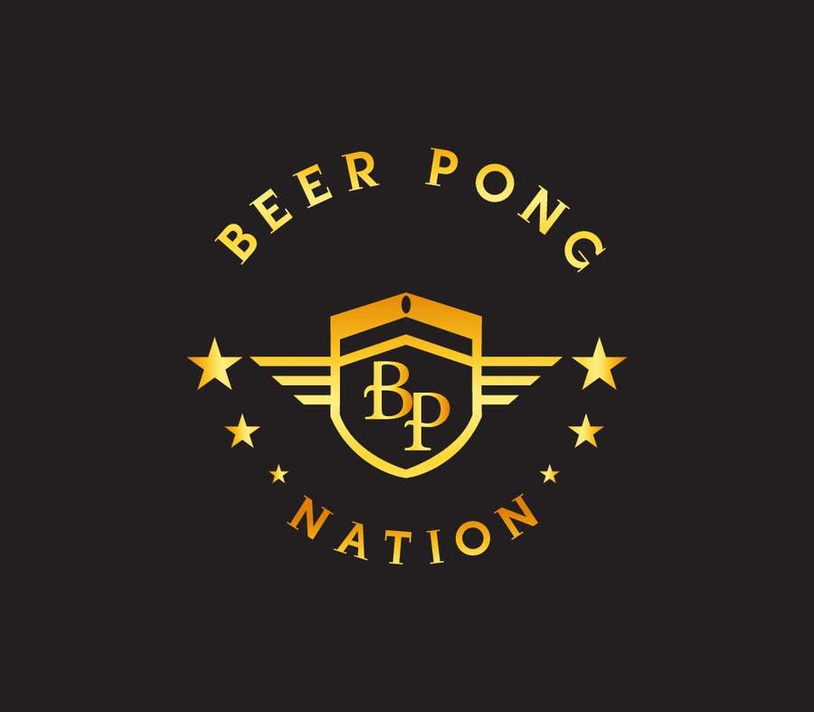 Konkurrenceindlæg #                                        90                                      for                                         Design a Logo for a beer pong company.