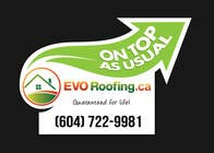 Graphic Design Entri Peraduan #14 for Lawn sign for Roofing company
