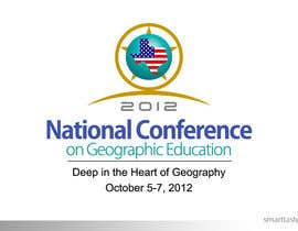 smarttaste tarafından Graphic Design for 97th National Conference on Geographic Education için no 54