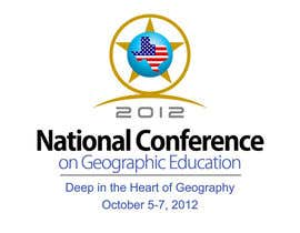 #55 para Graphic Design for 97th National Conference on Geographic Education de smarttaste