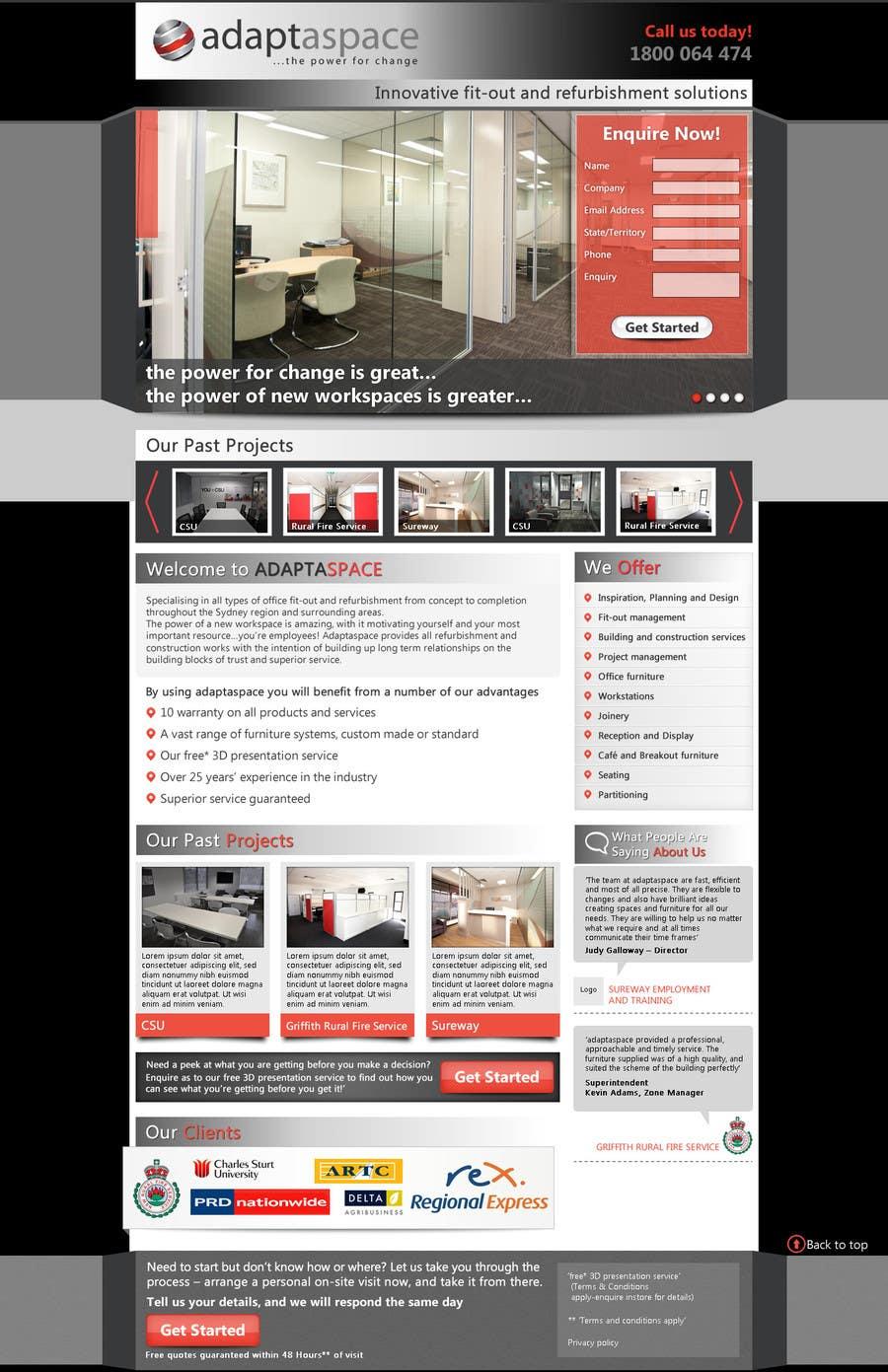 Konkurrenceindlæg #                                        7                                      for                                         Graphic Design for Landing Page