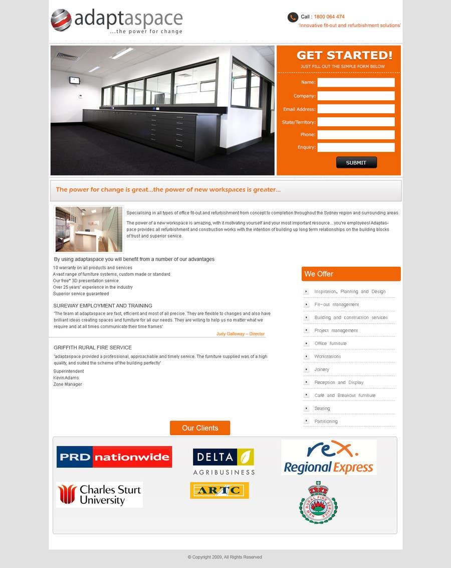 Konkurrenceindlæg #                                        11                                      for                                         Graphic Design for Landing Page
