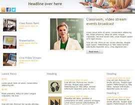 #1 untuk Wordpress Theme Design for MasterClasse oleh SanchitaG