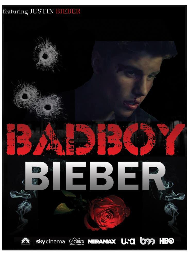 #153 for Design a poster for Gangster @JustinBieber, #BadBoyBieber! by nIDEAgfx