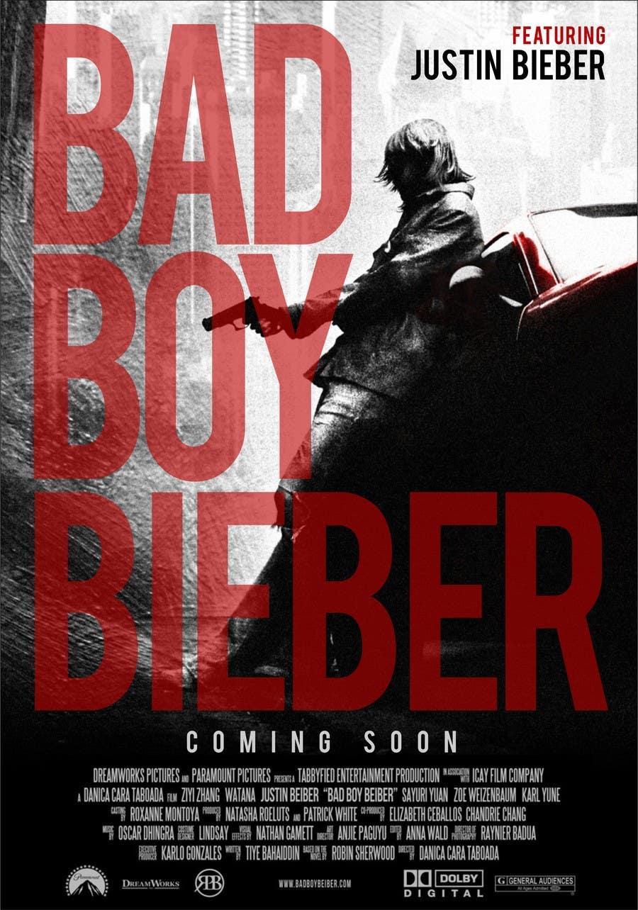 #127 for Design a poster for Gangster @JustinBieber, #BadBoyBieber! by designart65