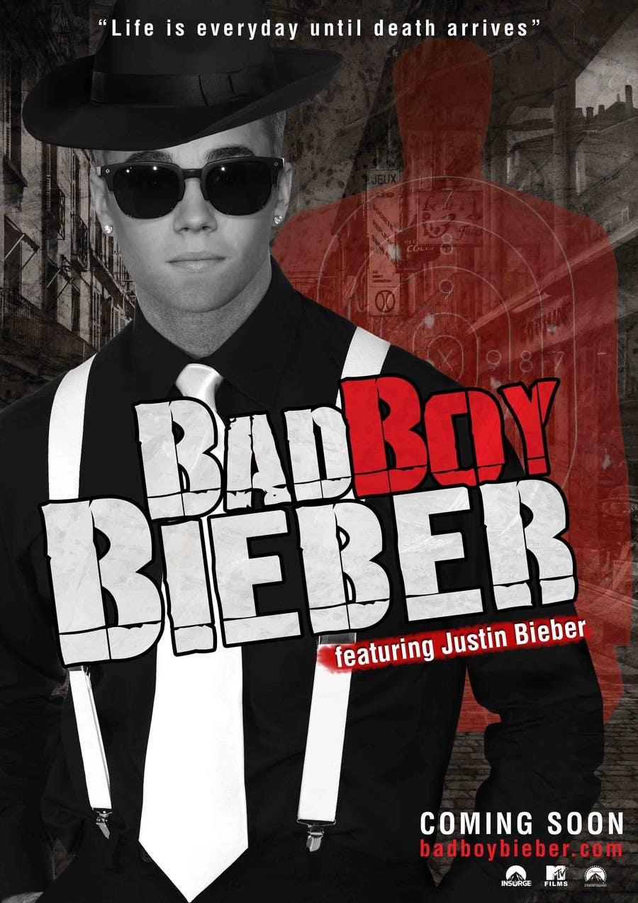 #124 for Design a poster for Gangster @JustinBieber, #BadBoyBieber! by calvograficos