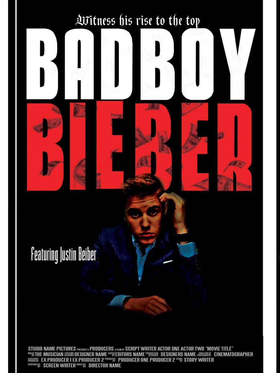 #82 for Design a poster for Gangster @JustinBieber, #BadBoyBieber! by brandonLee24