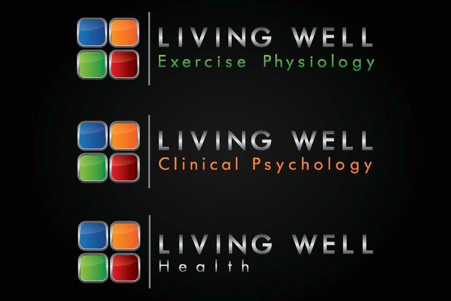 Kilpailutyö #34 kilpailussa Logo Design for Living Well Exercise Physiology
