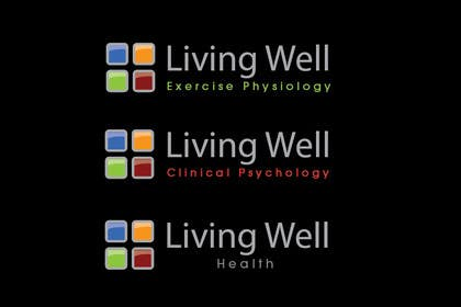 #50 untuk Logo Design for Living Well Exercise Physiology oleh iffikhan