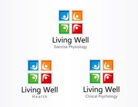 #53 para Logo Design for Living Well Exercise Physiology por macper