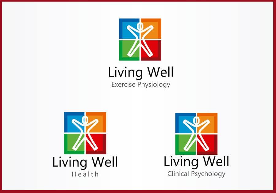 Kilpailutyö #82 kilpailussa Logo Design for Living Well Exercise Physiology