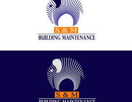 #43 for Logo for S&M Building Maintenance business card by angellika