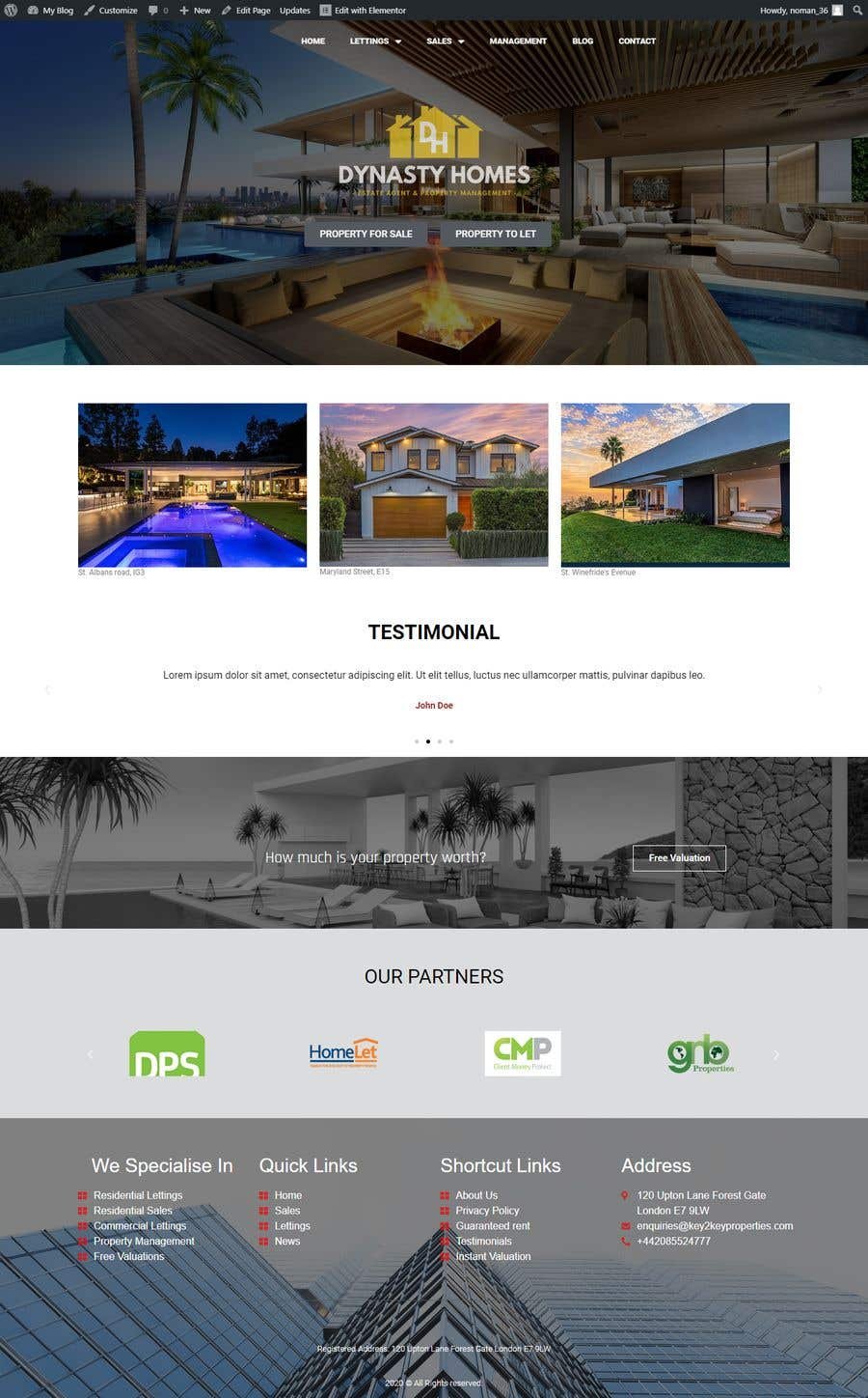 Contest Entry #                                        7                                      for                                         Web Page Design - redesign Services page for photography business