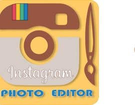 nº 21 pour Design a Logo for Instagram Photo Editor par AndriiOnof