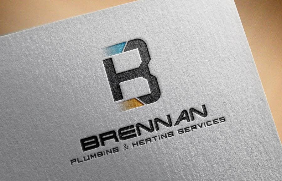Konkurrenceindlæg #                                        66                                      for                                         Design a Logo for Brennan  Plumbing & Heating Services