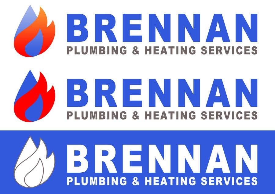 Konkurrenceindlæg #                                        52                                      for                                         Design a Logo for Brennan  Plumbing & Heating Services
