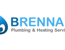 #42 untuk Design a Logo for Brennan  Plumbing & Heating Services oleh arc7sam