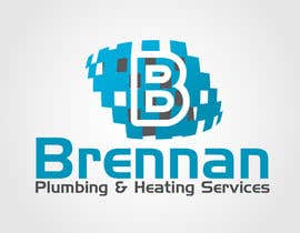 #56 untuk Design a Logo for Brennan  Plumbing & Heating Services oleh satpalsood