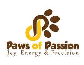 #15 cho Designa en logo for Paws of Passion bởi MaestroBm