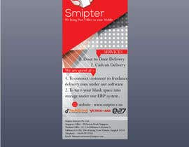 #13 untuk Design a Xstand Banner for Smipter : We bring Post Office to You oleh qazishaikh