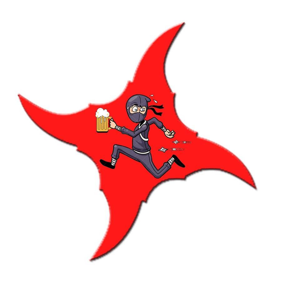 """Inscrição nº 2 do Concurso para Desing Logo for clan """"Drunken Ninja Squad"""""""