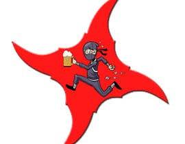 "#2 untuk Desing Logo for clan ""Drunken Ninja Squad"" oleh Dymarpt"