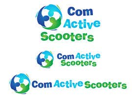 nº 10 pour Logo Design for ComActive Scooters par thephzdesign