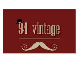 #7 for Design a logo for a new online vintage clothing store af gabrieldimi